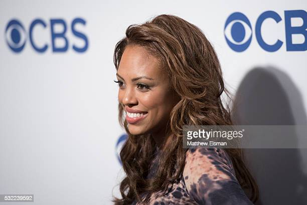 Jaime Lee Kirchner attends 2016 CBS Upfront at The Plaza on May 18 2016 in New York City