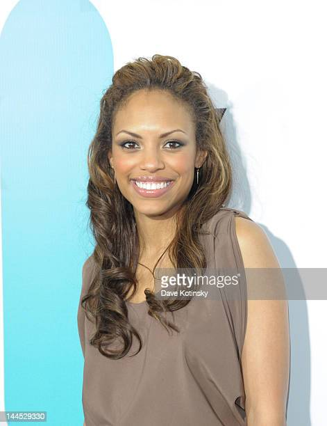 Jaime Lee Kirchner attends attends the Fox 2012 Programming Presentation PostShow Party at Wollman Rink Central Park on May 14 2012 in New York City