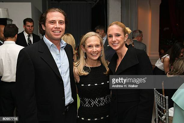 Jaime LeFrak Karen LeFrak and Caroline Bierbaum attend the American Ballet Theatre premiere of Cake after party on May 1 2008 in New York City