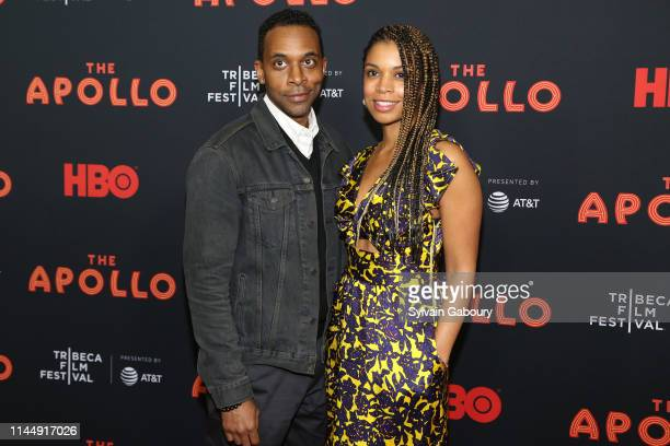 Jaime Lincoln Smith and Susan Kelechi Watson attend 18th Annual Tribeca Film Festival 2019 Opening Night Screening Of The Apollo at The Apollo...