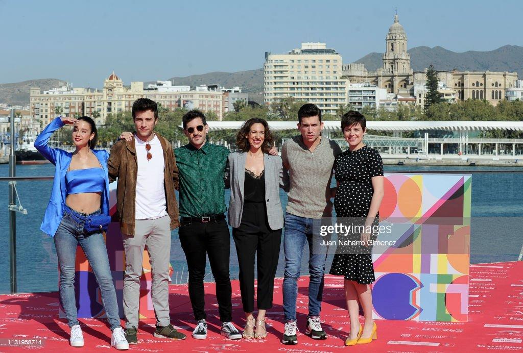 ESP: '¿A Quien Te Llevarias A Una Isla Desierta? - Netflix Photocall - Malaga Film Festival 2019