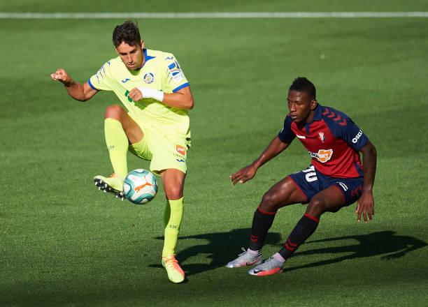 ESP: CA Osasuna v Getafe CF  - La Liga