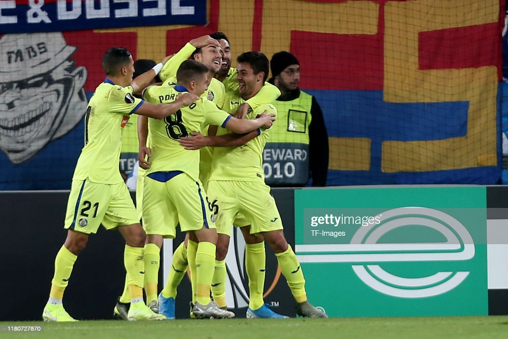 FC Basel v Getafe CF: Group C - UEFA Europa League : News Photo