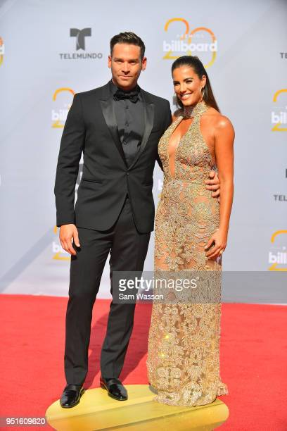 Jaime Mayol and Gaby Espino attend the 2018 Billboard Latin Music Awards at the Mandalay Bay Events Center on April 26 2018 in Las Vegas Nevada