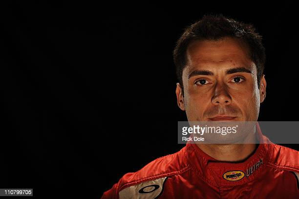 Jaime Melo of Brazil driver of the Risi Competizione Ferrari during the Intercontinental Le Mans Cup 12 Hours of Sebring at Sebring International...