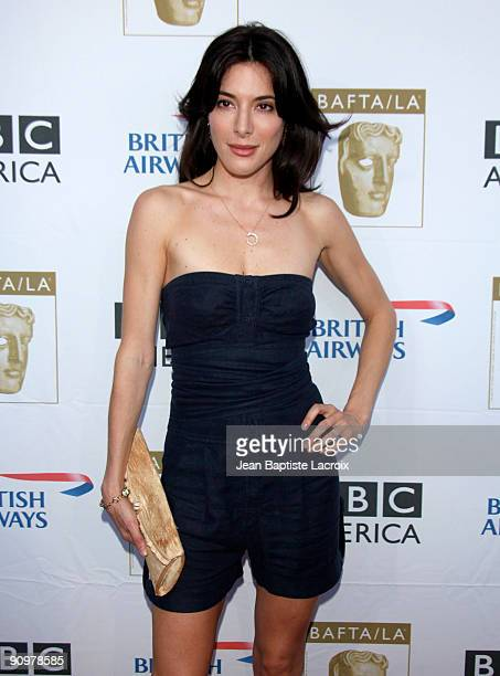 Jaime Murray arrives at the BAFTA LA's 2009 Primetime Emmy Awards TV Tea Party at InterContinental Hotel on September 19 2009 in Century City...