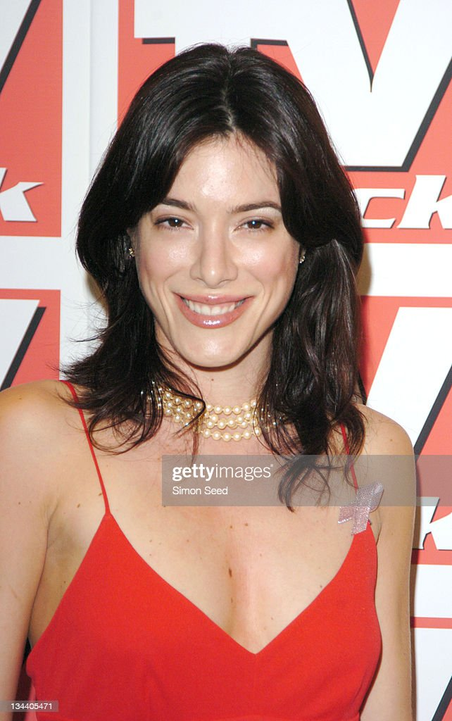 Jaime Murray during 2004 TV Quick Soap Awards - Press Room at Dorchester Hotel in London, Great Britain.
