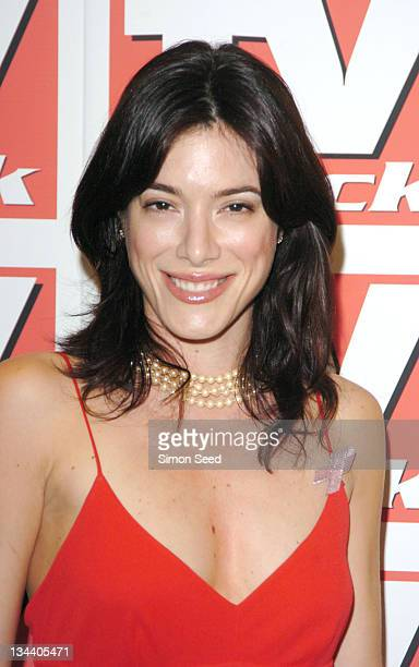 Jaime Murray during 2004 TV Quick Soap Awards Press Room at Dorchester Hotel in London Great Britain