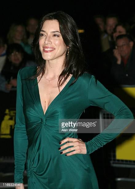 Jaime Murray during Amnesty International Presents 'The Secret Policeman's Ball' Red Carpet at Royal Albert Hall in London United Kingdom