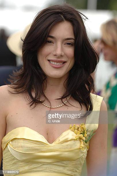 Jaime Murray during Cartier International Polo July 30 2006 at Windsor in London Great Britain