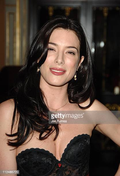 Jaime Murray during Gina Shoe's 50th Birthday Party at The Bar at The Dorchester at Dorchester Hotel in London Great Britain