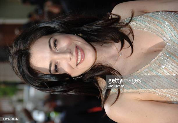 Jaime Murray during The 2006 British Academy Television Awards Arrivals at Grosvenor House in London Great Britain