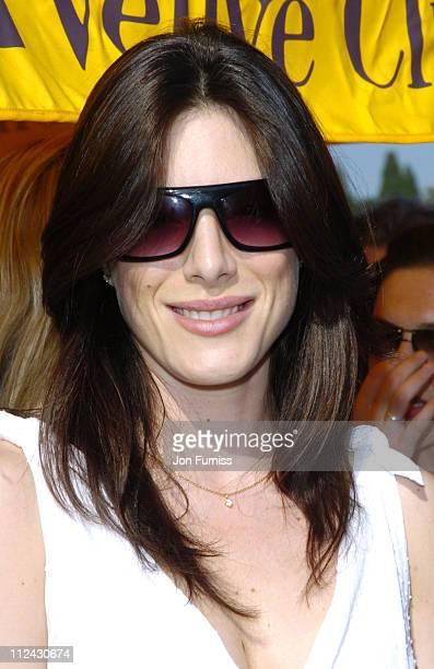 Jaime Murray during The Veuve Clicquot Gold Cup Polo Final July 17 2005 at Cowdray Park in West Sussex Great Britain