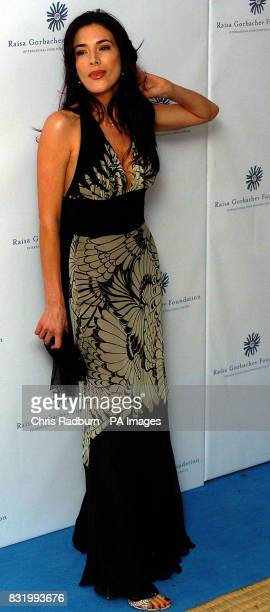 Jaime Murry arrives at the Raisa Gorbachev Foundation Russian Ball at Althorp House Northamptonshire PRESS ASSOCIATION Photo Picture date Saturday...
