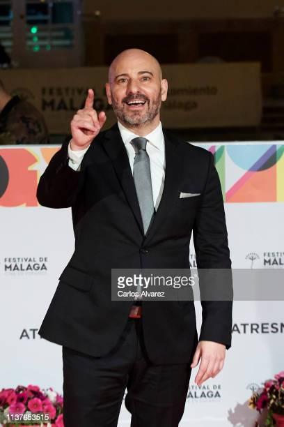Jaime Ordonez attends '¿A Quien te Llevarias a una Isla Desierta' photocall duirng the 22th Malaga Film Festival on March 22 2019 in Malaga Spain