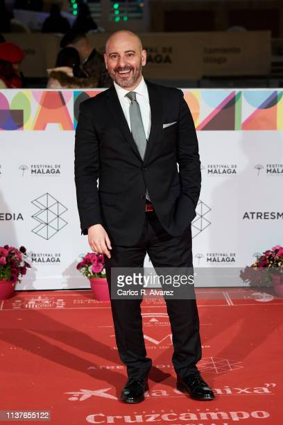 Jaime Ordonez attends '¿A Quien te Llevarias a una Isla Desierta' photocall duirng the 22th Malaga Film Festival on March 22 2019 in Malaga Spain