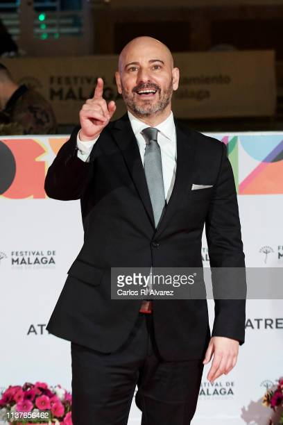 Jaime Ordonez attends 'Retrospectiva' award ceremony during the 22th Malaga Film Festival on March 22 2019 in Malaga Spain