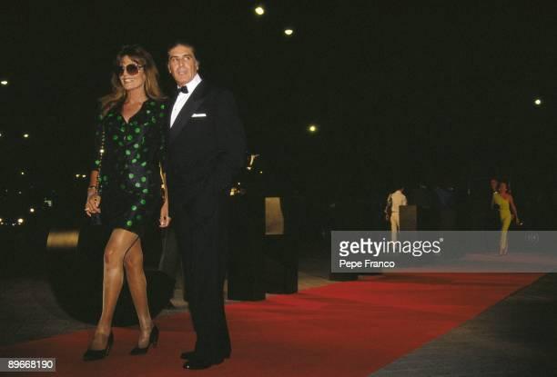 Jaime Ostos and Lita Trujillo in a party