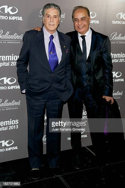 Jaime Ostos attends the XI Teatro Kapital Awards at Teatro Kapital on March 14 2013 in Madrid Spain