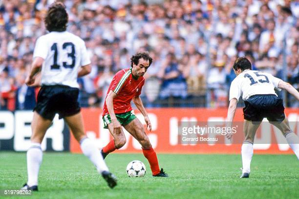 Jaime Pacheco of Portugal during the Football European Championship between West Germany and Portugal Strasbourg France on 14 June 1984