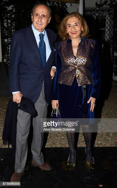 Jaime Penafiel and his wife Carmen Alonso attends the SICAB Closing Gala 2017 on November 18 2017 in Seville Spain