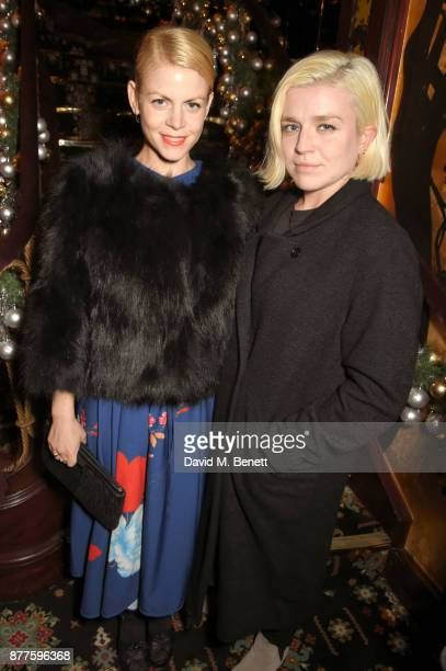 Jaime Perlman and Hanna Hanra attend the Nick Cave The Bad Seeds x The Vampires Wife x Matchesfashioncom party at Loulou's on November 22 2017 in...