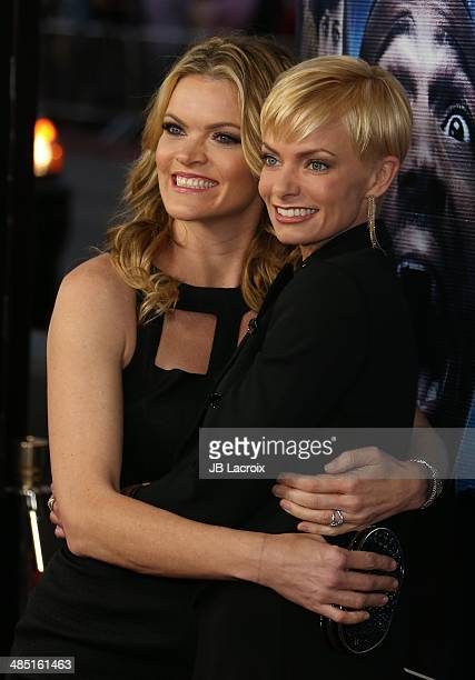 """Jaime Pressly and Missi Pyle attend """"A Haunted House 2"""" Los Angeles premiere held at Regal Cinemas L.A. Live on April 16, 2014 in Los Angeles,..."""