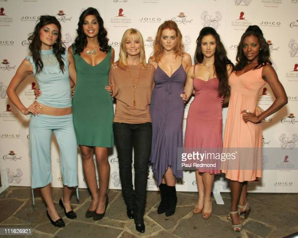 Jaime Pressly and models during J'aime Spring/Summer '07 by Jaime Pressly Presented by Joico Elle Magazine to Benefit St Jude Children's Research...