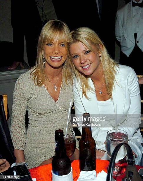 Jaime Pressly and Tara Reid during Playboy's Annual Super Saturday Night Event Brings 'Heaven and Hell' to Houston at Corinthian in Houston Texas...