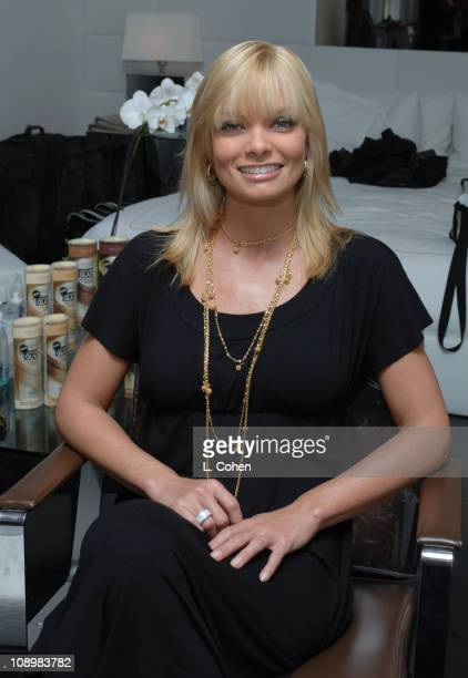 Jaime Pressly at John Frieda during John Frieda Luminous Color Glaze Pre-Emmy Suite at Roosevelt Hotel in Hollywood, California, United States.
