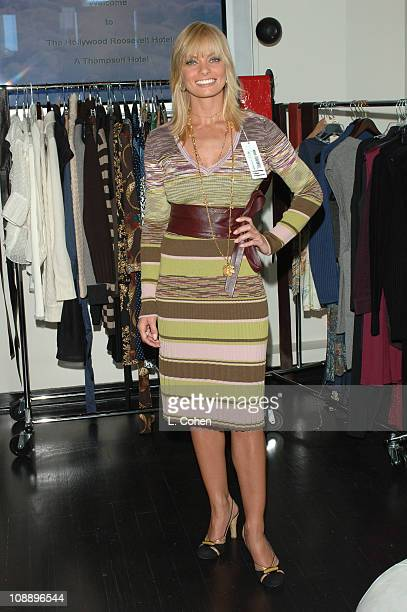 Jaime Pressly at Searle Collection during John Frieda Luminous Color Glaze Pre-Emmy Suite at Roosevelt Hotel in Hollywood, California, United States.