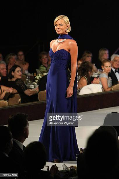 Jaime Pressly at The St Jude's 5th Annual Runway For Life Benefit held at The Beverly Hilton Hotel on October 11 2008 in Beverly Hills California