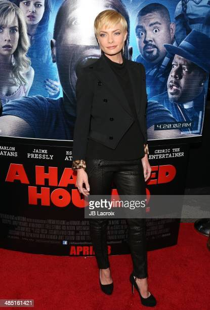 be40c11502588 Jaime Pressly attends  A Haunted House 2  Los Angeles premiere held at  Regal Cinemas.