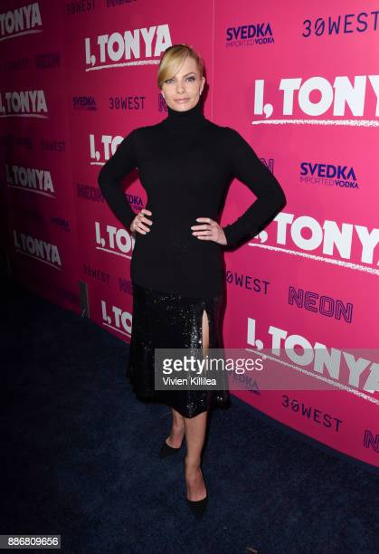 Jaime Pressly attends NEON and 30WEST Present the Los Angeles Premiere of 'I Tonya' Supported By Svedka on December 5 2017 in Los Angeles California