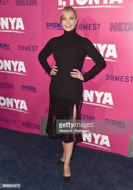 Jaime Pressly attends Premiere Of Neon's 'I Tonya' at the Egyptian Theatre on December 5 2017 in Hollywood California