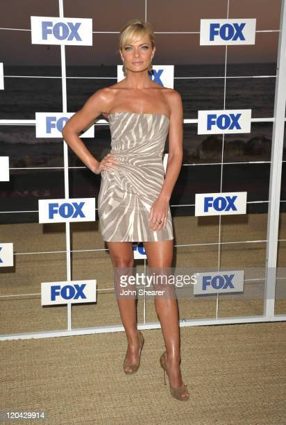 Jaime Pressly attends the Fox All Star Party 2011 at Gladstone's Malibu on August 5 2011 in Malibu California