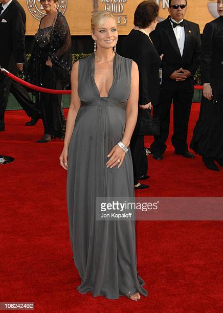 Jaime Pressly during 13th Annual Screen Actors Guild Awards Arrivals at Shrine Auditorium in Los Angeles California United States