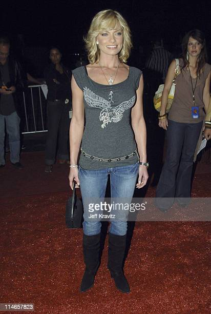 Jaime Pressly during 2005 Spike TV Video Game Awards - Red Carpet at Gibson Amphitheater in Universal City, California, United States.
