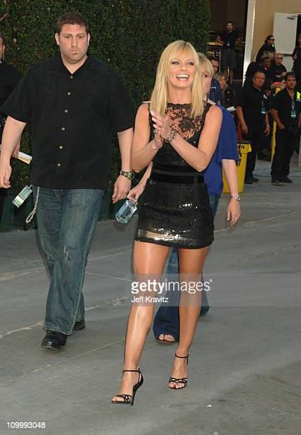 Jaime Pressly during 2006 VH1 Rock Honors Red Carpet at Mandalay Bay Hotel and Casino in Las Vegas United States United States