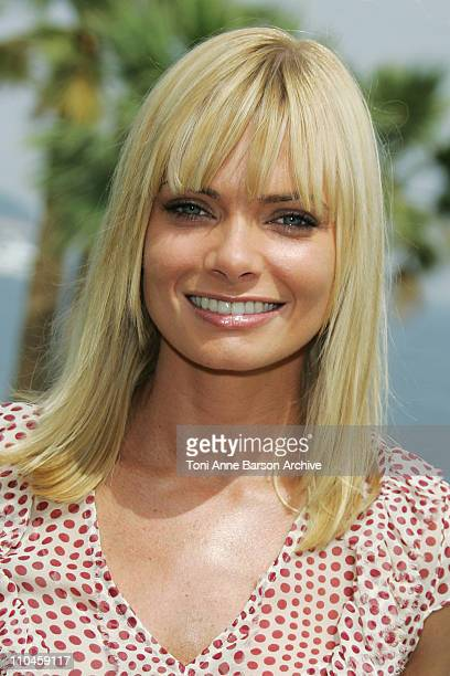 Jaime Pressly during 46th Monte Carlo Television Festival Jaime Pressly Interviewed by eXtra at Grimaldi Forum in Monte Carlo Monaco
