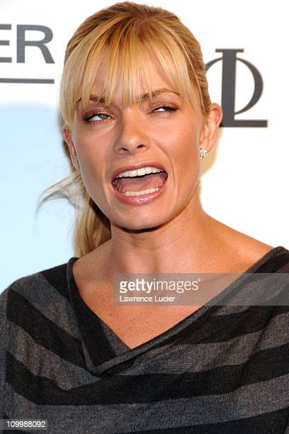 Jaime Pressly during Baume and Mercier Hosts the Launch of Club Phi September 19 2006 at Sky Studios in New York City New York United States
