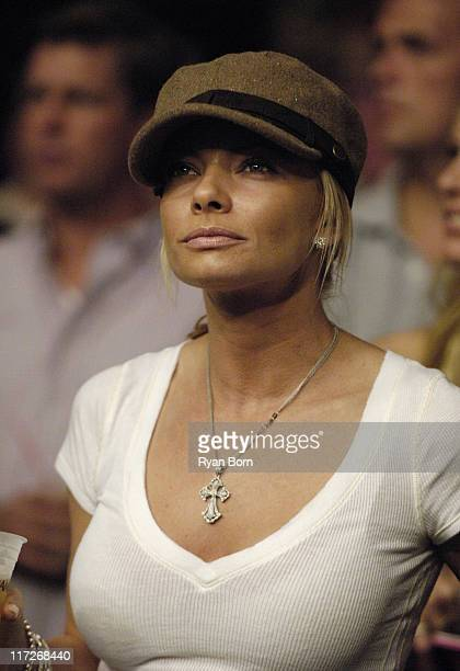 Jaime Pressly during Celebrity Sightings at UFC 59 Reality Check April 15 2006 at Arrowhead Pond in Anaheim California United States