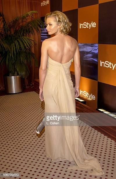 Jaime Pressly during InStyle Magazine Hosts Fourth Annual PostGolden Globes Party to Honor Hollywood's Elite Arrivals at The Beverly Hilton Hotel in...