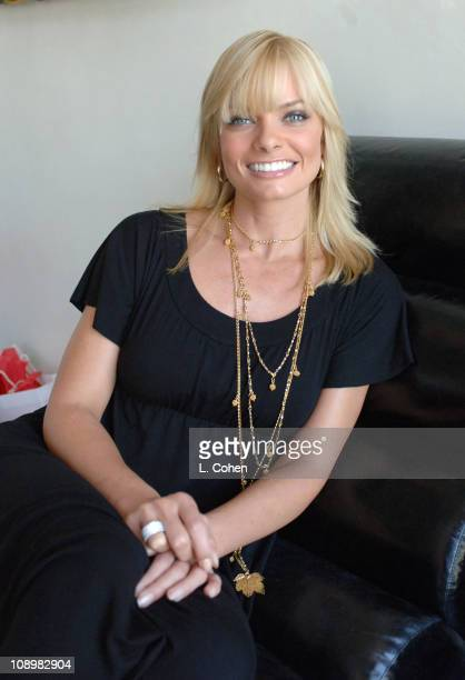 Jaime Pressly during John Frieda Luminous Color Glaze Pre-Emmy Suite at Roosevelt Hotel in Hollywood, California, United States.
