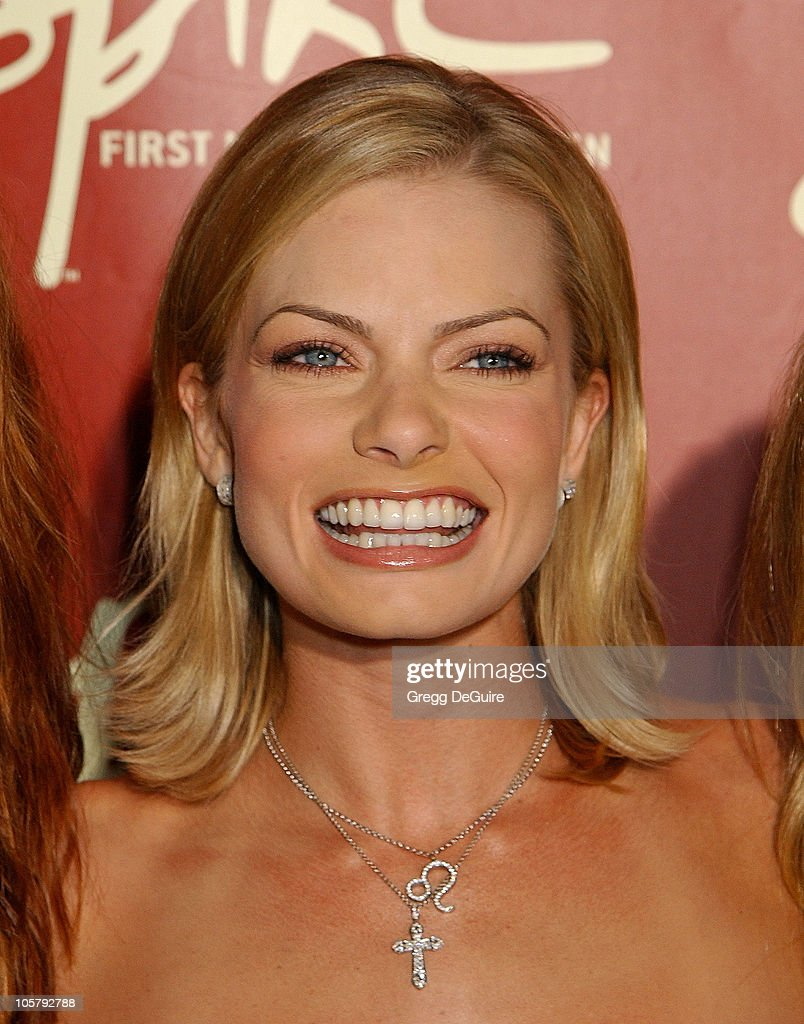 Jaime Pressly during Launch of Spike TV at the Playboy Mansion at Playboy Mansion in Los Angeles, California, United States.