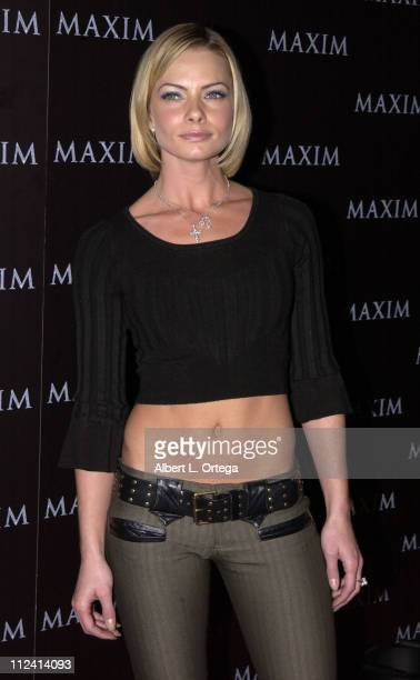 Jaime Pressly during Live Performance by The Pussycat Dolls Hosted by Maxim Magazine Arrivals at The Henry Fonda Theater in Hollywood California...