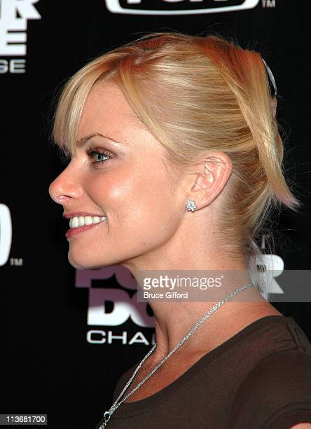 Jaime Pressly during Mansionpokernet Hosts The 'Poker Dome Challenge' Launch Party May 25 2006 at Tao Nightclub in Las Vegas Nevada United States