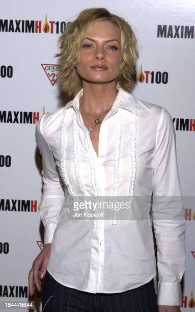 Jaime Pressly during Maxim Hot 100 Party Arrivals at Yamashiro in Hollywood California United States
