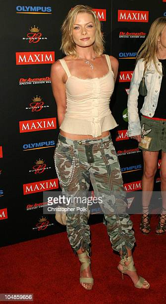 Jaime Pressly during Maxim Magazine's Annual Hot 100 Party at 1400 Ivar in Hollywood CA United States
