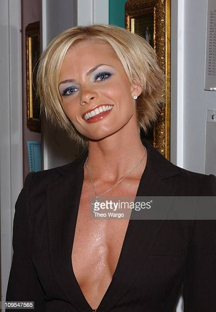 Jaime Pressly during MTV 2002 New Year's Party Live from New York City's Times Square Backstage at MTV Studios in New York City New York United States